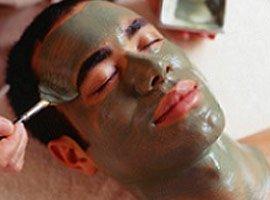 Men full-on for facials