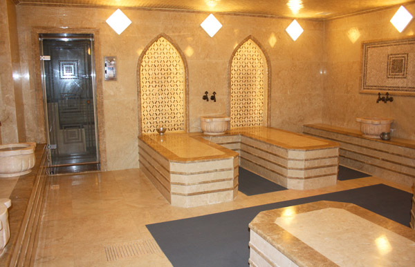 Exquisite Moroccan Bath and Manliness