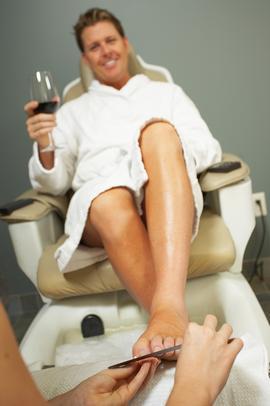 spa for men in Dubai