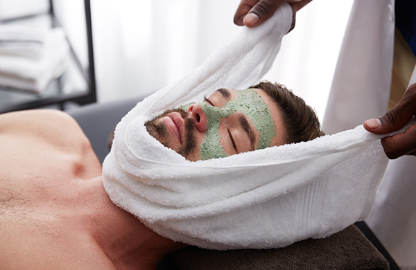 men's deep cleansing facial